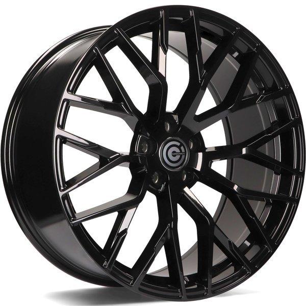 CARBONADO Wealthy hliníkové disky 9,5x21 5x112 ET25 Black Glossy
