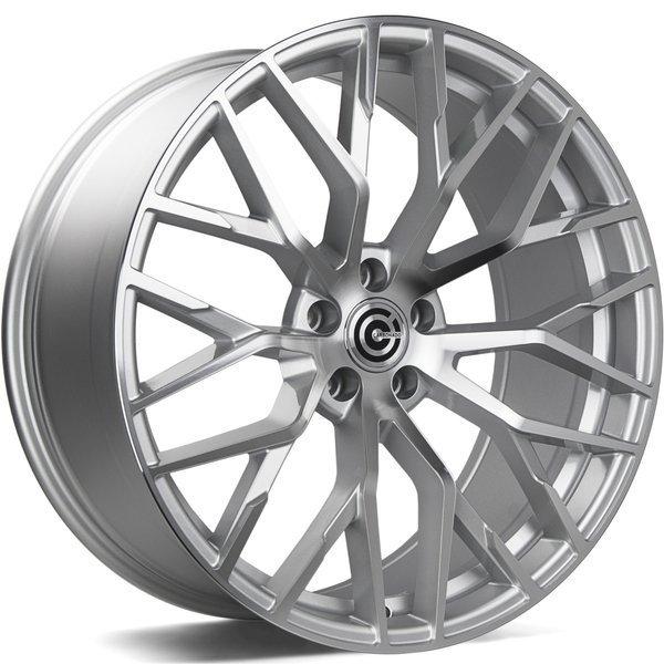 CARBONADO Wealthy hliníkové disky 9,5x21 5x112 ET25 Silver Front Polished