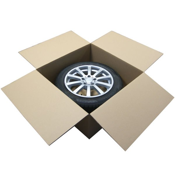 """(4 koła) - 4x Karton na 1 Koło 14-19"""" 660x660x300"""
