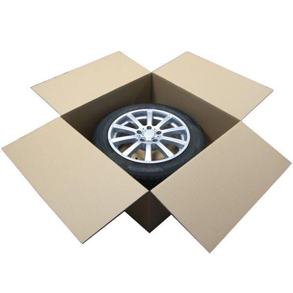 """(4 koła) - 4x Karton na 1 Koło 20-22"""" 750x750x320"""