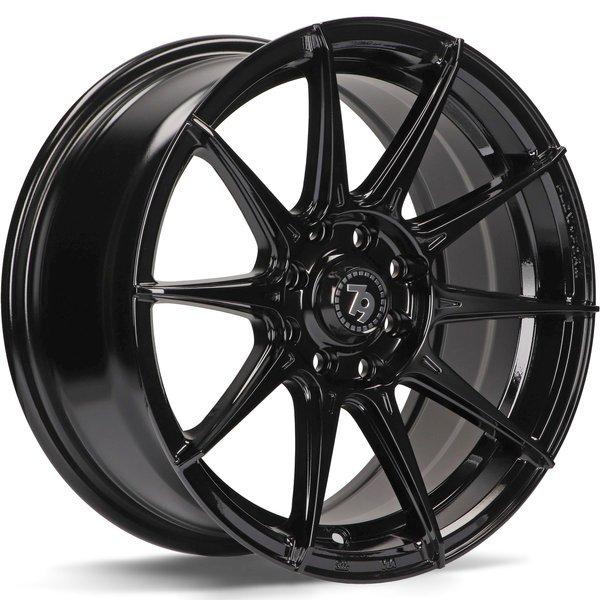 79WHEELS SCF-F hliníkové disky 7x15 4x100 ET35 BG - Black Glossy