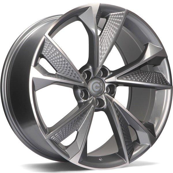 CARBONADO Luxury hliníkové disky 9x21 5x112 ET25 AFP - Anthracite Front Polished