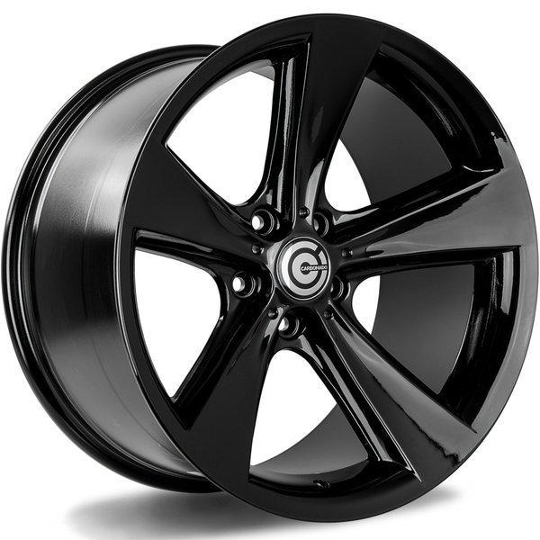 CARBONADO Concave  hliníkové disky 9x19 5x120 ET24 Black Glossy