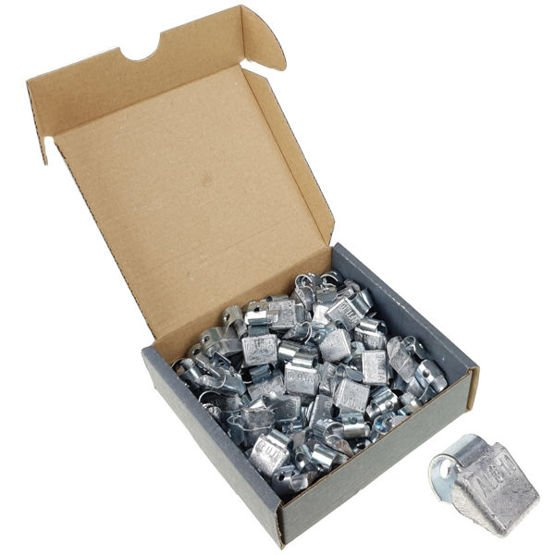 Clip on weights for aluminum wheels SPS ALU PB/A (10 g, lead) - 100 pcs. - Stix