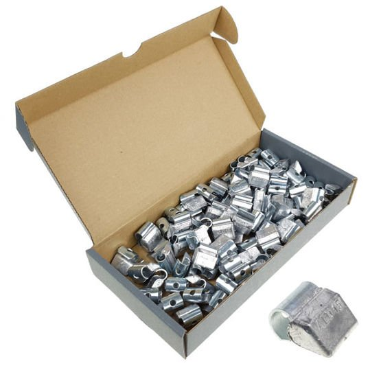 Clip on weights for aluminum wheels SPS ALU PB/A (15 g, lead) - 100 pcs. - Stix